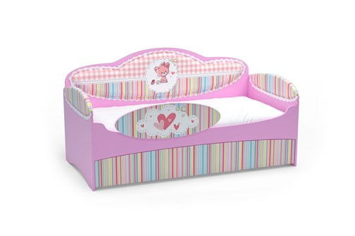 Диван-кровать Mia Розовый - фото 11600