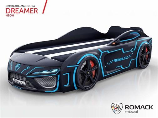 Кровать-машина Dreamer 2019 НЕОН - фото 12498