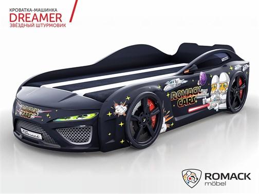 Кровать-машина Dreamer 2019 ЗВЁЗДНЫЙ ШТУРМОВИК - фото 12534