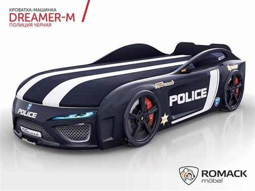 Кровать-машина Dreamer-M Полиция-2019 - фото 12814