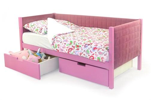 Детская кровать-тахта мягкая «Svogen лаванда» - фото 13331