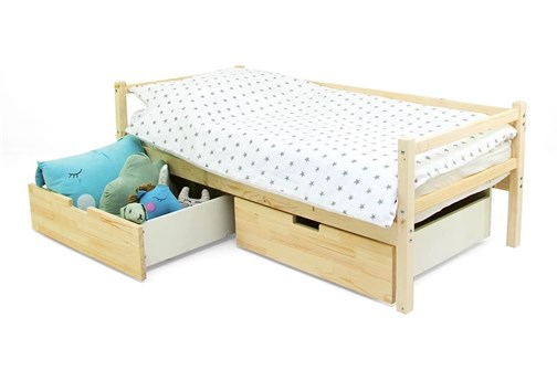 Детская деревянная кровать-тахта «Svogen натура» - фото 13555