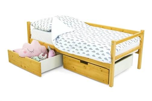 Детская деревянная кровать-тахта «Svogen дерево» - фото 13595