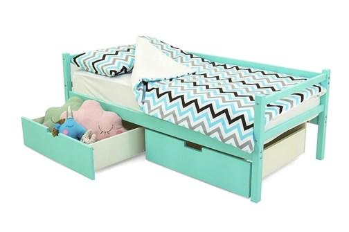 Детская деревянная кровать-тахта «Svogen мятный» - фото 13605