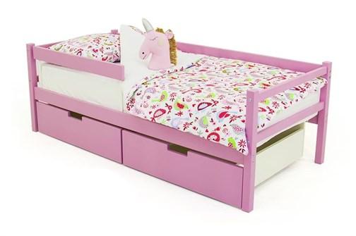 Детская деревянная кровать-тахта «Skogen лаванда» - фото 13631