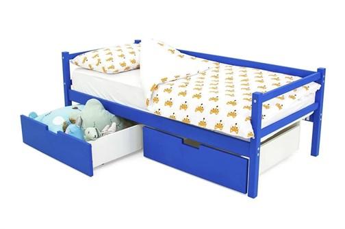 Детская деревянная кровать-тахта «Svogen синий» - фото 13644