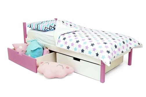 Детская кровать «Svogen classic лаванда-белый» - фото 13702