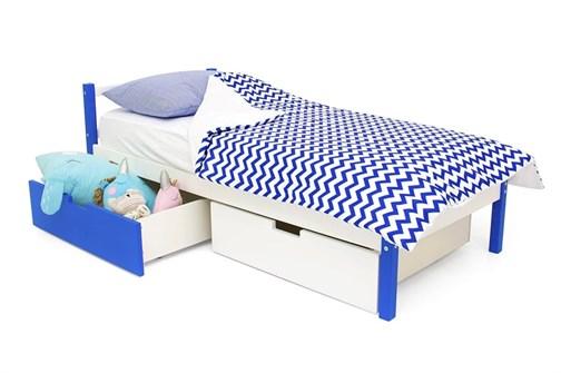 Детская кровать «Skogen classic сине-белый» - фото 13819