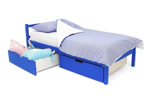 Детская кровать «Skogen classic синий» - фото 13858