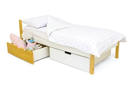 Детская кровать «Skogen classic дерево-белый» - фото 13871