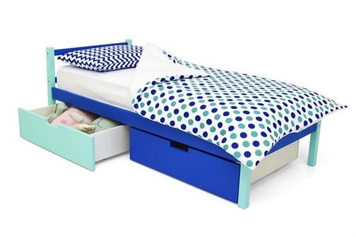 Детская кровать «Skogen classic мятно-синий» - фото 13884