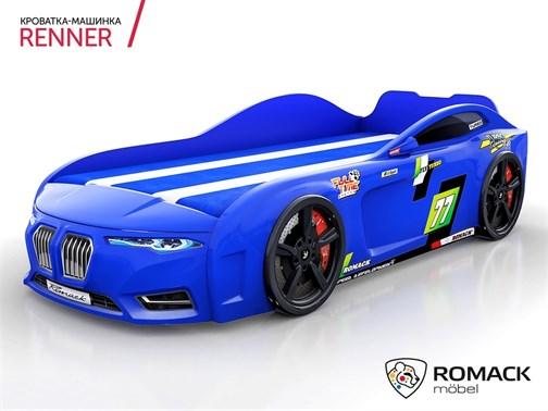 Кровать-машина Romack Renner-2 (2019) Синяя - фото 14972