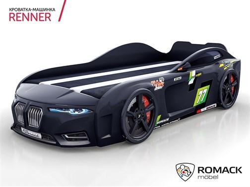 Кровать-машина Romack Renner-2 (2019) Черная - фото 15028