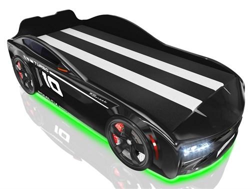 Кровать-машина Romack Energy Черная - фото 15228