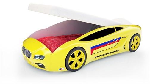 Кровать-машина Roadster «БМВ» с подъемным механизмом - фото 16827