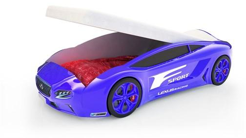 Кровать-машина Roadster «Лексус» с подъемным механизмом - фото 16929