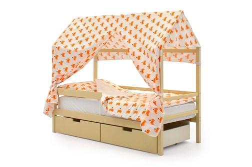 """Детская кровать-домик """"Svogen бежевый"""" - фото 17422"""