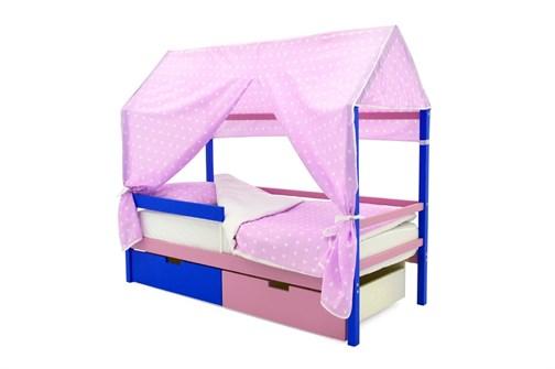 """Детская кровать-домик """"Svogen синий-лаванда"""" - фото 17731"""