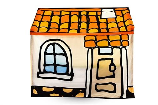 Игровая накидка для кровати-домика Svogen «Черепичный домик» - фото 17892