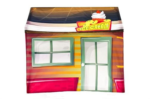 Игровая накидка для кровати-домика Svogen «Ларек Мороженое» - фото 18045