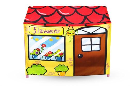 Игровая накидка для кровати-домика Svogen «Цветочный ларек» - фото 18125