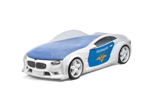"""Кровать-машина NEO (НЕО) """"Полиция"""" - Все модели - фото 19459"""