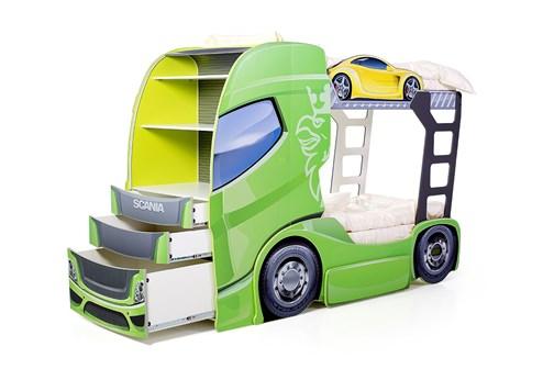 """Кровать-грузовик """"Скания+2"""" - фото 20705"""
