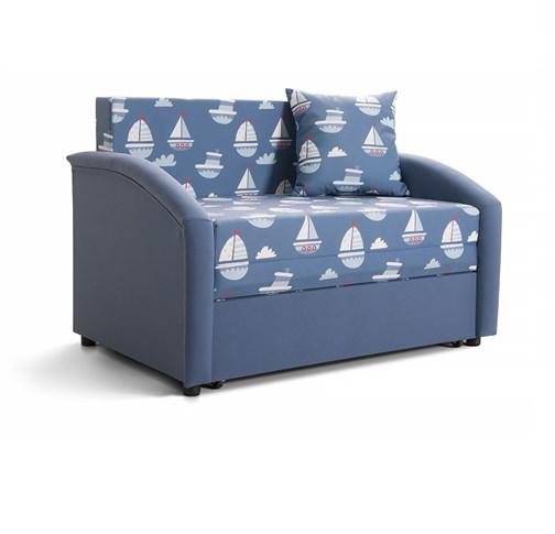 """Детский диван """"Даня"""" (принт Морской) - фото 20871"""