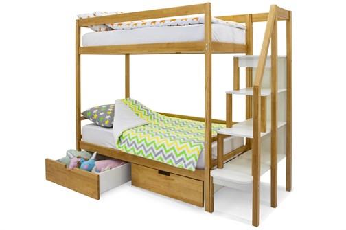 Двухъярусная кровать «Svogen» дерево - фото 21181