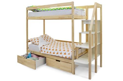 Двухъярусная кровать «Svogen» натура - фото 21370