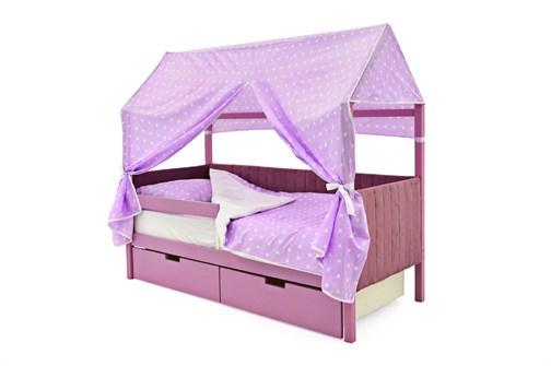 Кровать-домик мягкий «Svogen лаванда» - фото 21764
