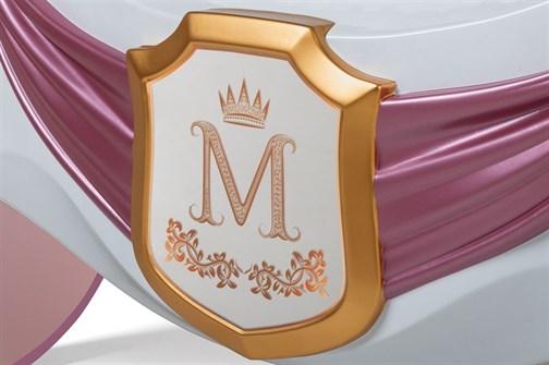 """Фамильный герб для кровати-кареты """"Рапунцель"""" - фото 22770"""