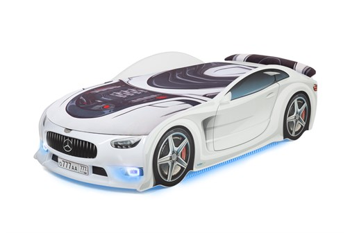 "Кровать-машина UNO PLUS ""Mercedes"" - фото 25302"