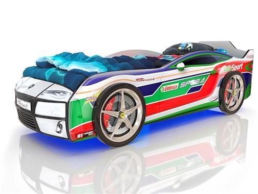Кровать-машина Kiddy Ралли Спорт - фото 6241