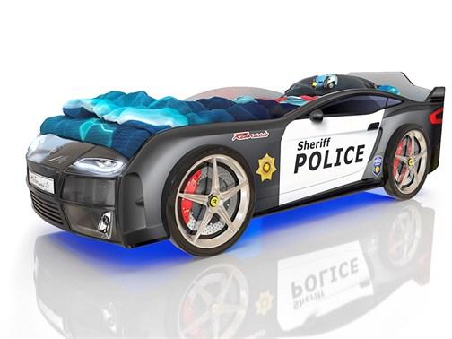 Кровать-машина Kiddy Полиция - фото 6271