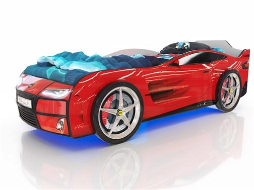 Кровать-машина Kiddy Красная - фото 6301