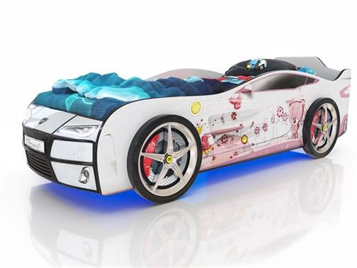 Кровать-машина Kiddy Мишка - фото 6379