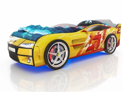 Кровать-машина Kiddy Линии - фото 6409