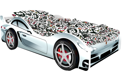 Кровать-машина Порше Карлсона - фото 6545