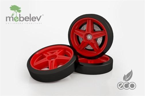 Объемные пластиковые колеса для серии UNO/EVO/NEO (комп. 2 шт.) - фото 7020