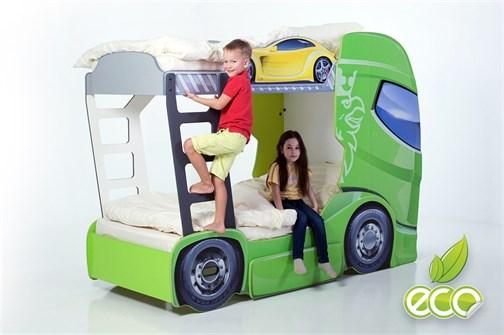 """Кровать-грузовик """"Скания+2"""" - фото 8738"""