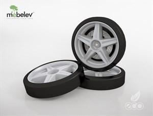 Объемные пластиковые колеса для серии Light, Ауди А4 и Камаро (комп. 2 шт.)