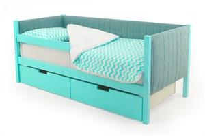 Детская кровать-тахта мягкая «Svogen мятный»