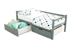 Детская деревянная кровать-тахта «Skogen графит»
