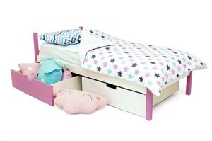 Детская кровать «Skogen classic лаванда-белый»