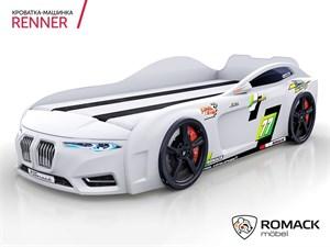 Кровать-машина Romack Renner-2 (2019) Белая