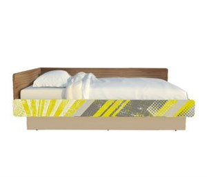 """Кровать широкая """"Slash! Сноуборд"""""""