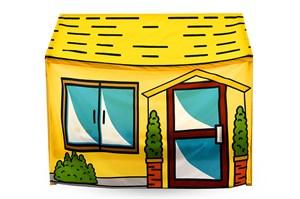 Игровая накидка для кровати-домика Svogen «Морковилл»
