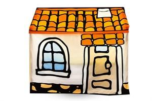 Игровая накидка для кровати-домика Svogen «Черепичный домик»