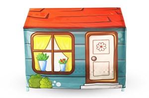 Игровая накидка для кровати-домика Svogen «Морской бриз»